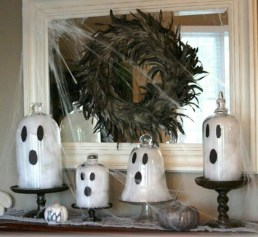 Great halloween mantel decorating ideas 28