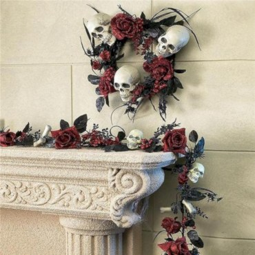 Great halloween mantel decorating ideas 31