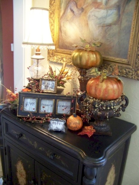 Great halloween mantel decorating ideas 47