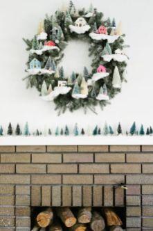 Ideas how to make minimalist christmas décoration 04