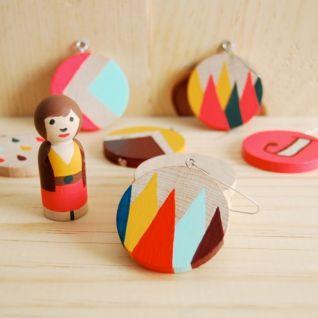Ideas how to make minimalist christmas décoration 06