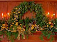 Ideas how to make minimalist christmas décoration 16