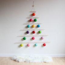 Ideas how to make minimalist christmas décoration 17