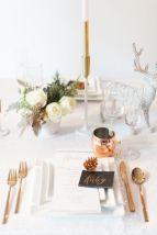 Ideas how to make minimalist christmas décoration 18