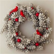 Ideas how to make minimalist christmas décoration 20