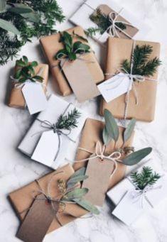 Ideas how to make minimalist christmas décoration 21