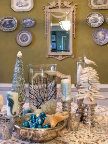 Ideas how to make minimalist christmas décoration 23