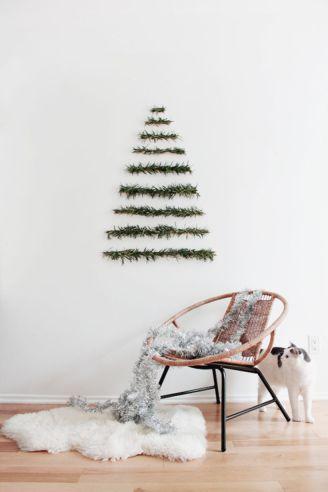 Ideas how to make minimalist christmas décoration 29