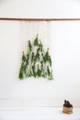 Ideas how to make minimalist christmas décoration 36