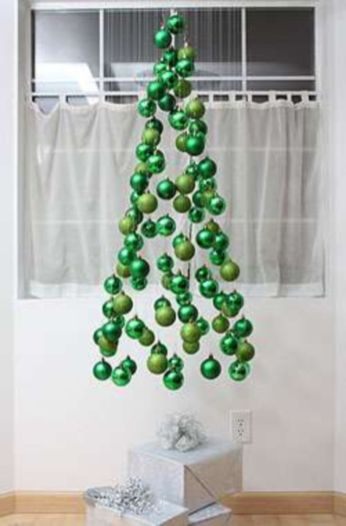 Ideas how to make minimalist christmas décoration 41