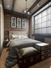 Industrial bedroom designs ideas for small spaces 03