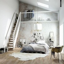 Industrial bedroom designs ideas for small spaces 12