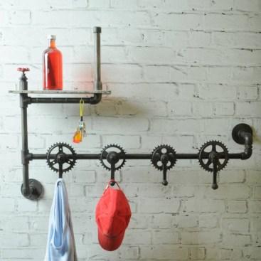 Industrial vintage bathroom ideas (18)