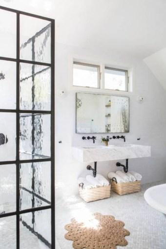 Industrial vintage bathroom ideas (24)