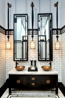 Industrial vintage bathroom ideas (28)