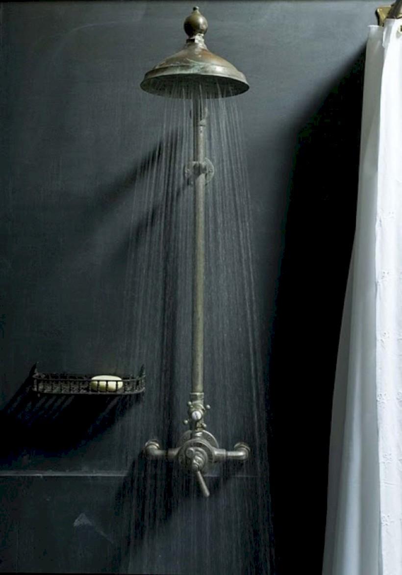 Industrial vintage bathroom ideas (32)
