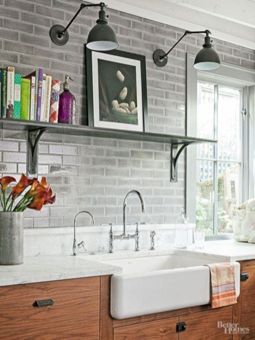 Industrial vintage bathroom ideas (63)