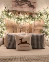 Inspiring christmas bedroom décoration ideas 01