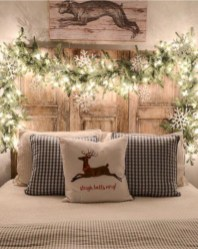 Inspiring christmas bedroom décoration ideas 01