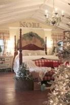 Inspiring christmas bedroom décoration ideas 09