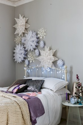 Inspiring christmas bedroom décoration ideas 17