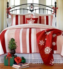 Inspiring christmas bedroom décoration ideas 20
