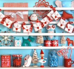 Inspiring christmas decoration ideas using plaid 01
