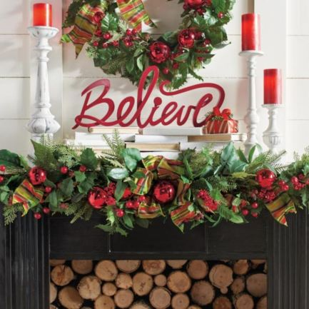 Inspiring christmas decoration ideas using plaid 25