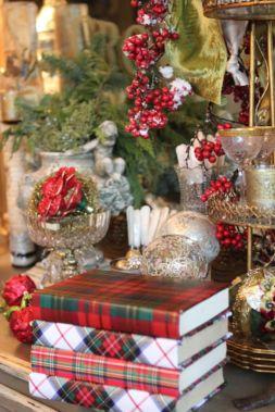 Inspiring christmas decoration ideas using plaid 26