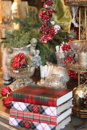 Inspiring christmas decoration ideas using plaid 26