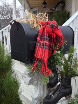 Inspiring christmas decoration ideas using plaid 32