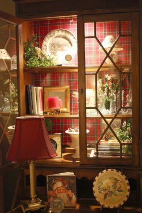 Inspiring christmas decoration ideas using plaid 38