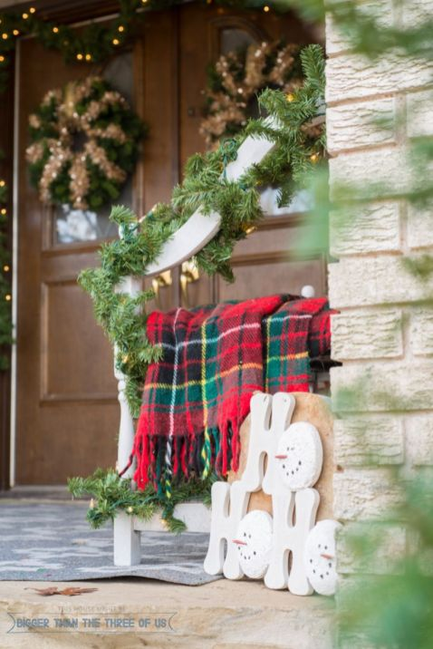 Inspiring christmas decoration ideas using plaid 40