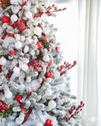 Inspiring christmas decoration ideas using plaid 49