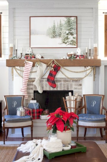 Inspiring christmas decorations ideas with traditional touch 39