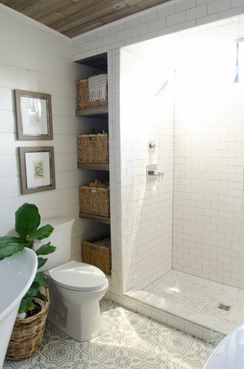 Inspiring diy bathroom remodel ideas (30)