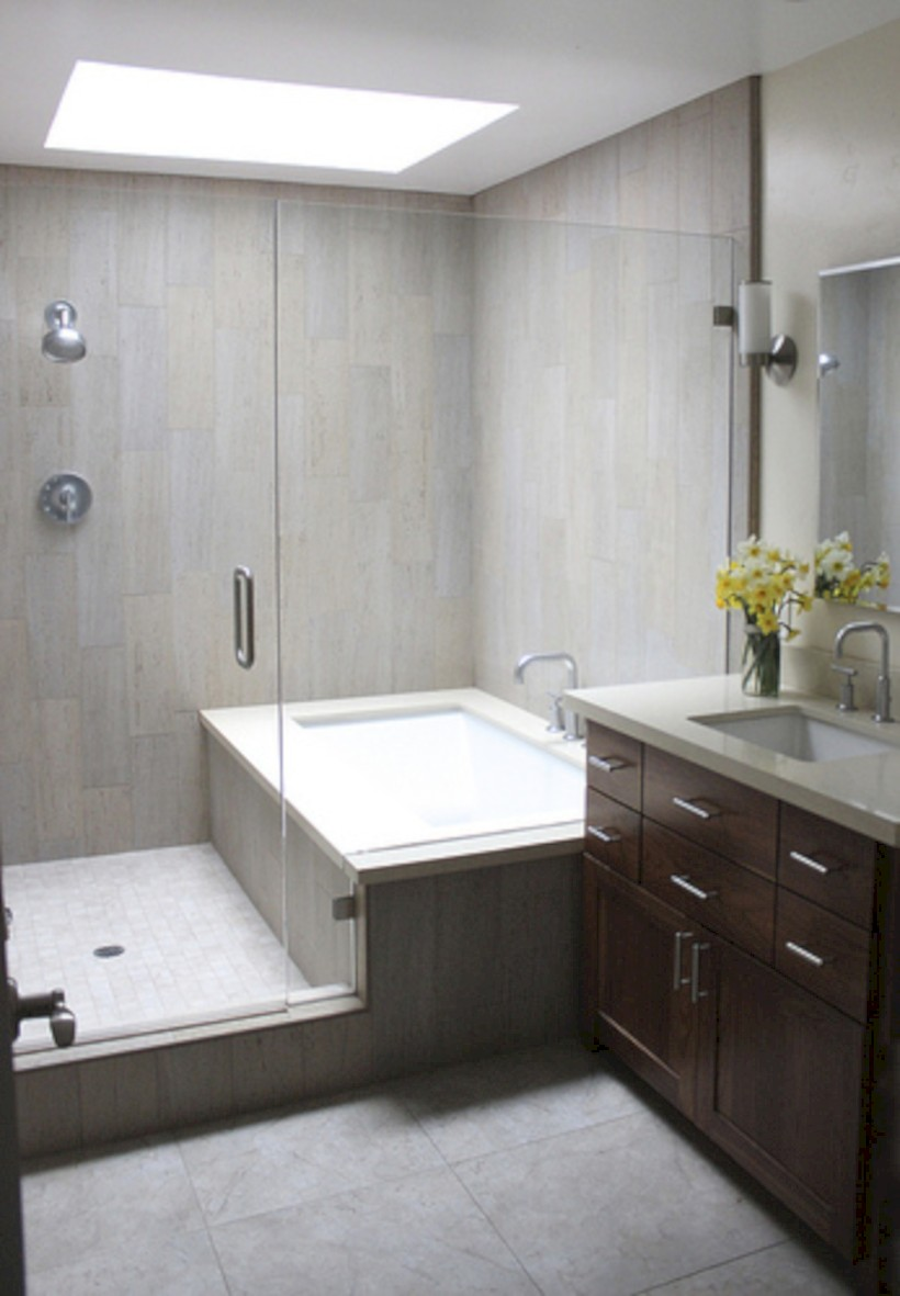 Inspiring diy bathroom remodel ideas (39)