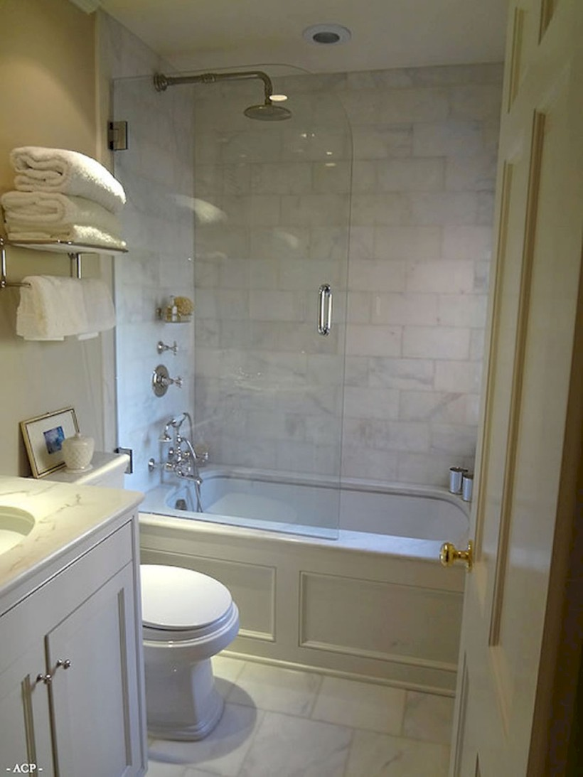 Inspiring diy bathroom remodel ideas (48)