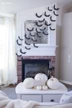 Inspiring halloween fireplace mantel ideas 09