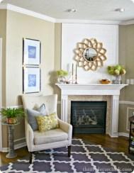 Inspiring halloween fireplace mantel ideas 15