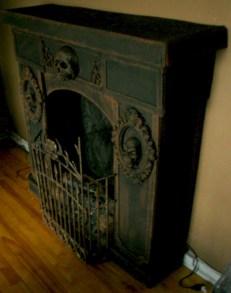 Inspiring halloween fireplace mantel ideas 25