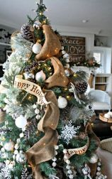 Inspiring indoor rustic christmas décoration ideas 23 23