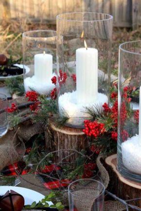 Inspiring indoor rustic christmas décoration ideas 50 50