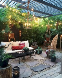 Lovely patio outdoor space ideas on a minimum budget (13)