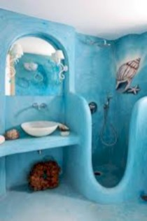 Mediterranean themed bathroom designs ideas 05