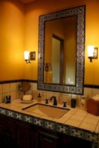 Mediterranean themed bathroom designs ideas 17