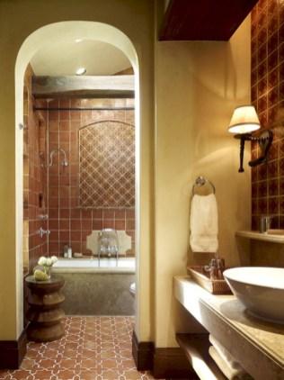 Mediterranean themed bathroom designs ideas 27