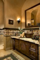 Mediterranean themed bathroom designs ideas 39