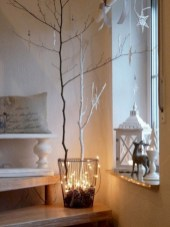 Minimalist and modern christmas tree décoration ideas 34