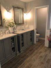Modern bathroom remodel ideas you should try (24)